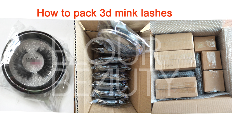 How to pack 3d mink lashes in round boxes.jpg