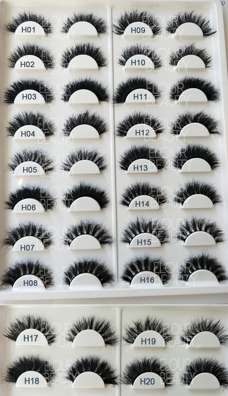 many more styles of soft 3d horse hair eyelashes wholesale.jpg