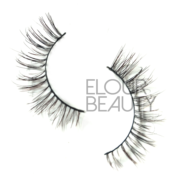 soft light human hair 3d lashes wholesale China.jpg