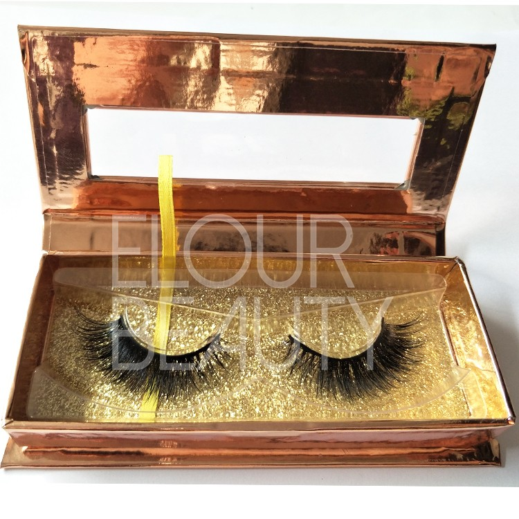 rose gold magnetic packaging for luxury mink 3d lashes China.jpg