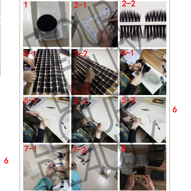 3d silk strip false lashes making procedure.jpg