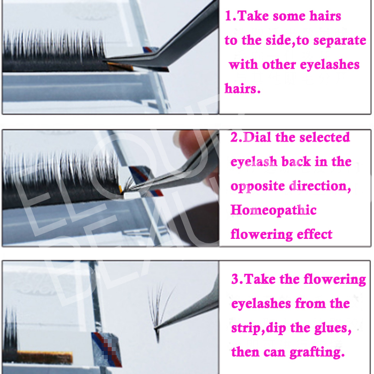 how to take the one-second blooming eyelash extensions China.jpg