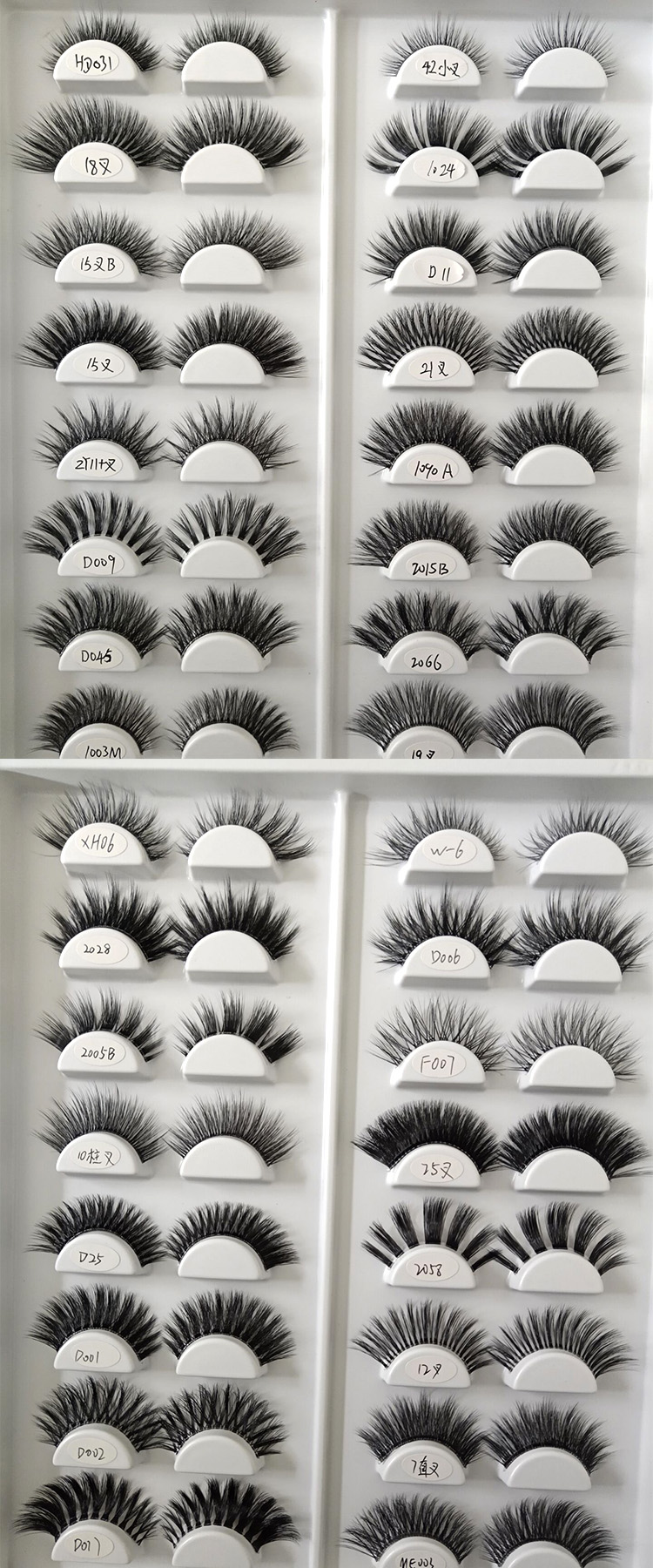 wholesale hundreds styles of 3d faux mink lashes China.jpg
