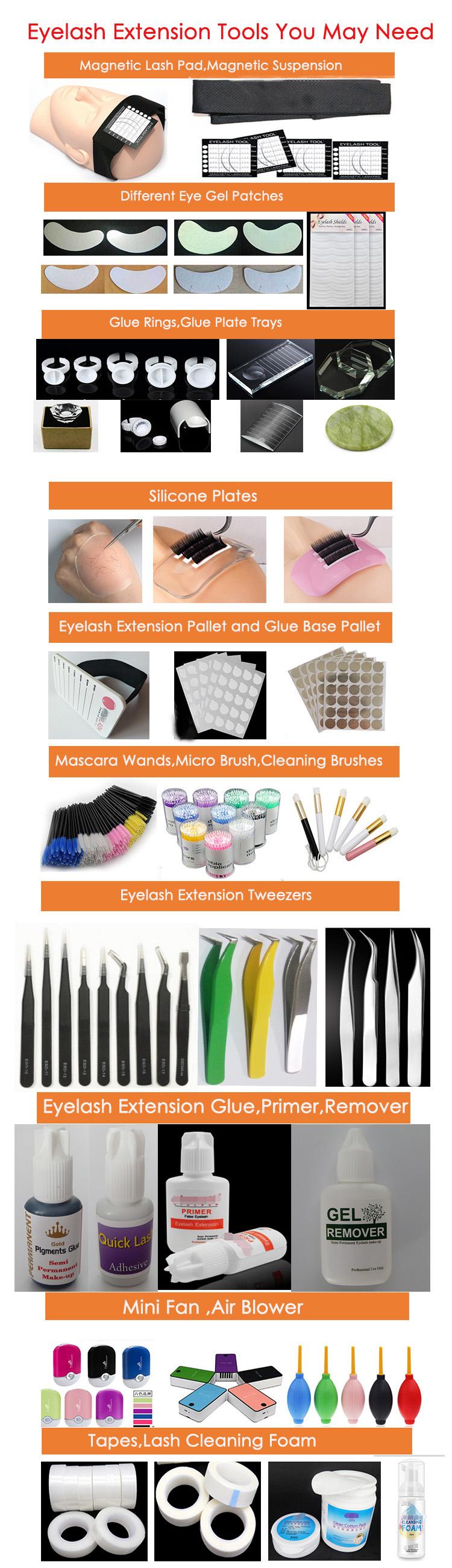 Korean eyelash extension manufacturer private label China