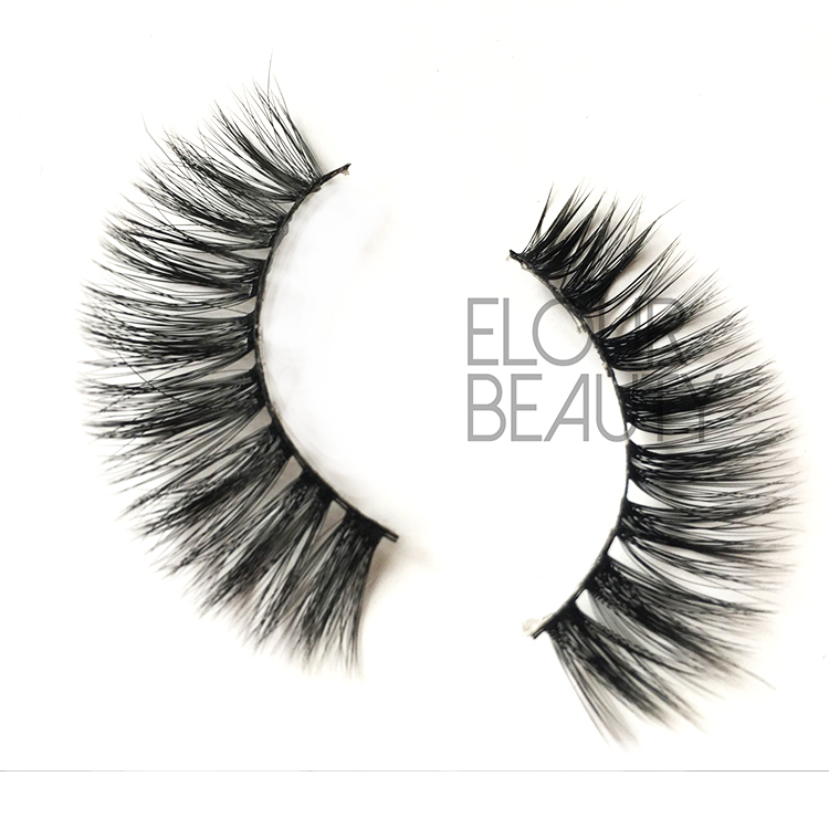 3D silk fake lashes for beauty supplies in China EJ75
