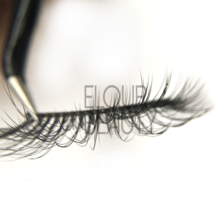 3D double eyelashes the best reusable eyelashes UK  EJ76