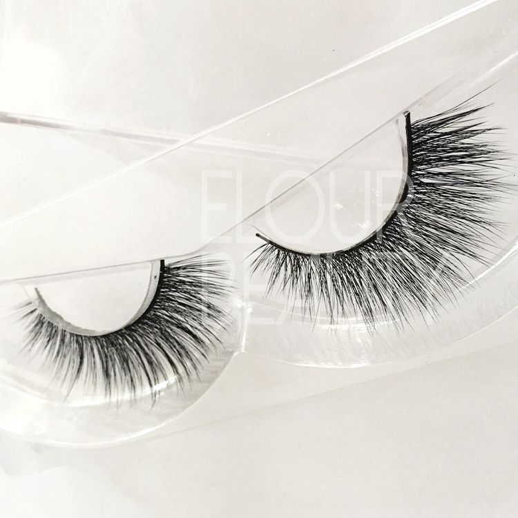 Factory supply cheap 3D faux mink dramtic eyelashes ES33