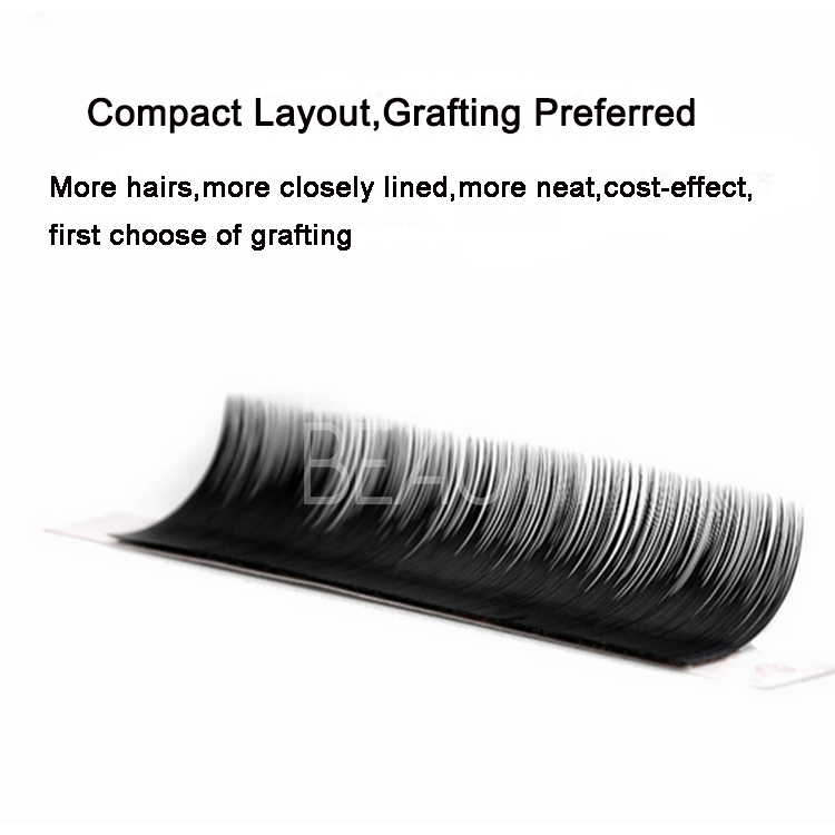 Private label Korean eyelash extensions grow eyelashes longer EJ99