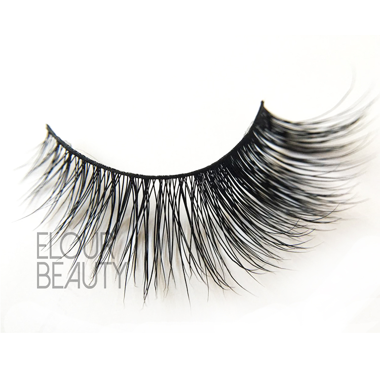 Customized 100% siberian cheap mink eyelashes wholesale China ES94