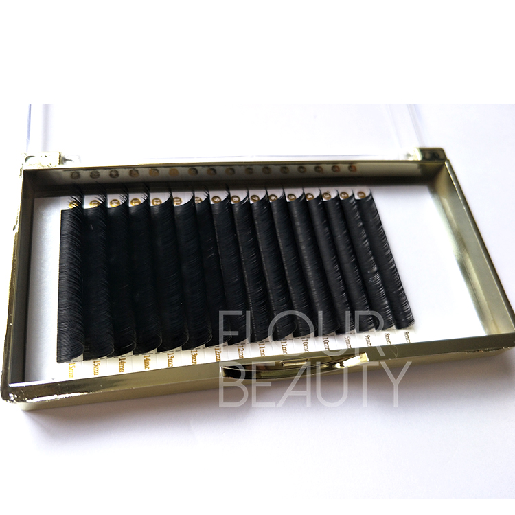 Best silk mink eyelash extensions individual lashes wholesale ED79