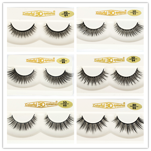 Natural looking silk lashes with custom package box EJ13