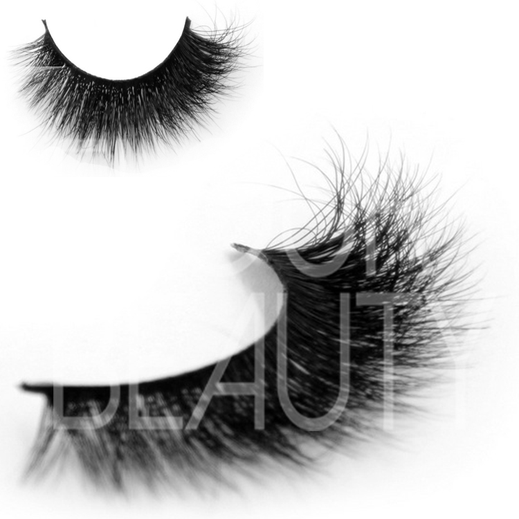 Thick 3D mink beauty lashes make eyes luxurious ES7