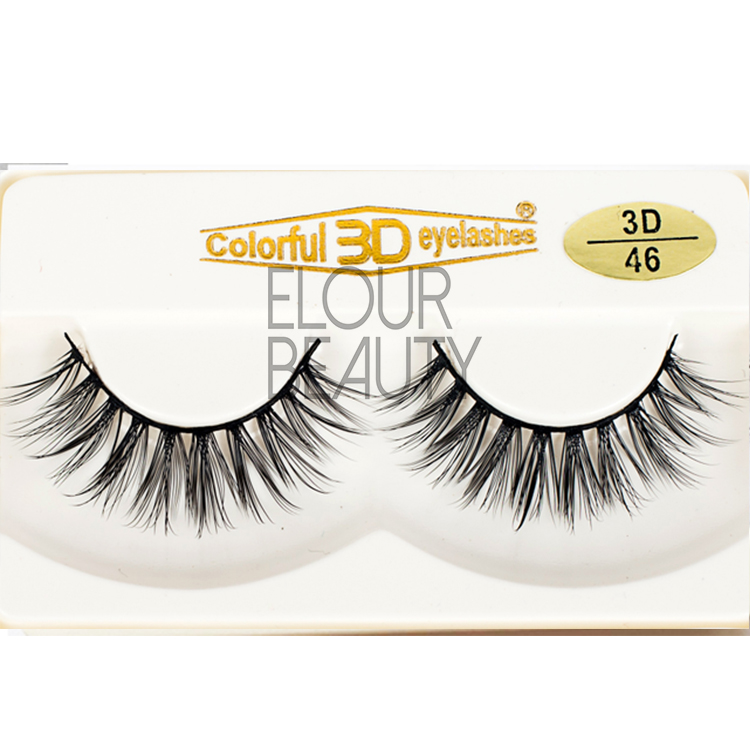 Cheap longer 3d silk best false eyelashes ES31