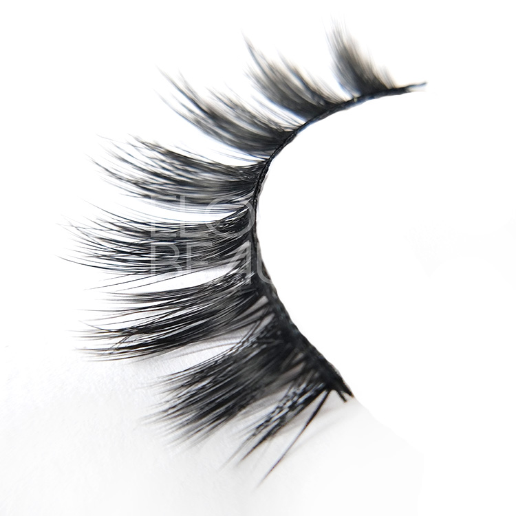 Private Label luxury 3D Faux Mink Eyelashes wholesale China EL76