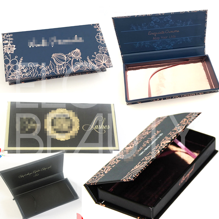 Best private label lash packaging for 3d lashes free design China ED71