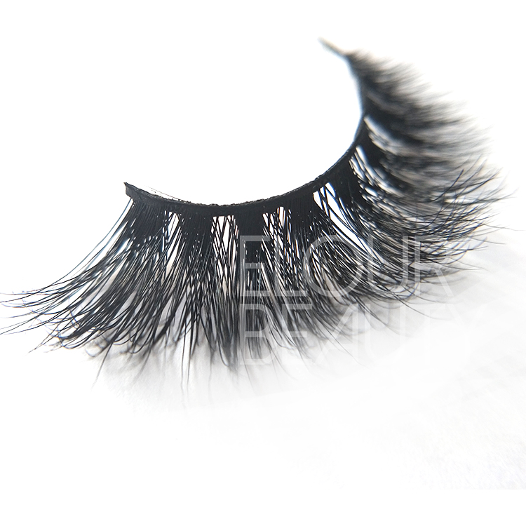 3D volume mink eyelash beauty with magnetic custom packaging China ED94