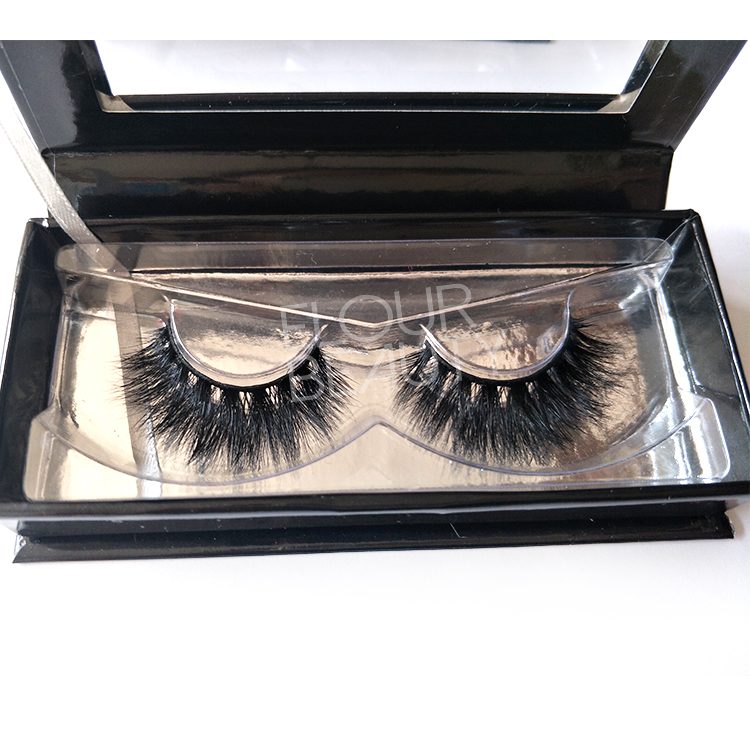 New volume 3d mink false eyelashes cruelty free private lable EL77