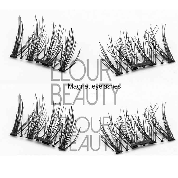 Natural magnetic false eyelashes OEM China supplies EA28