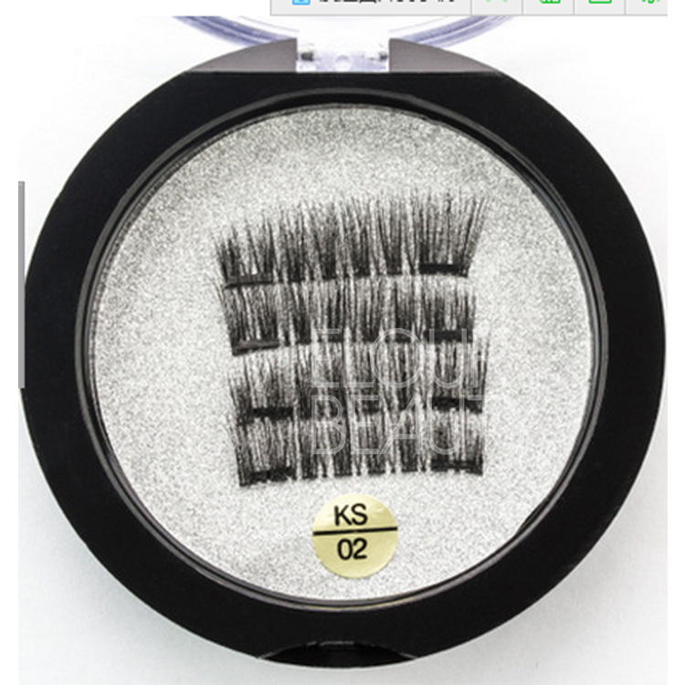 Professional 3D magnetic lashes free of glue China supplies EA25