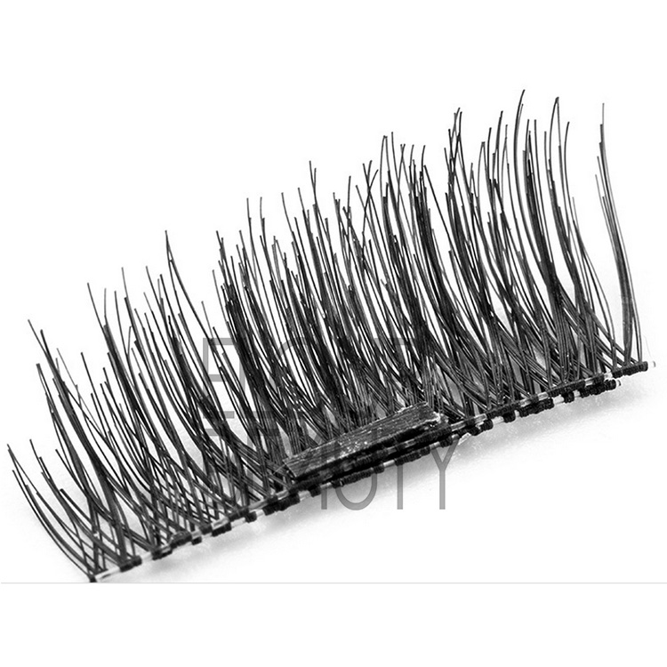 Magnetic faux lashes hundreds styles factory supplies EA110