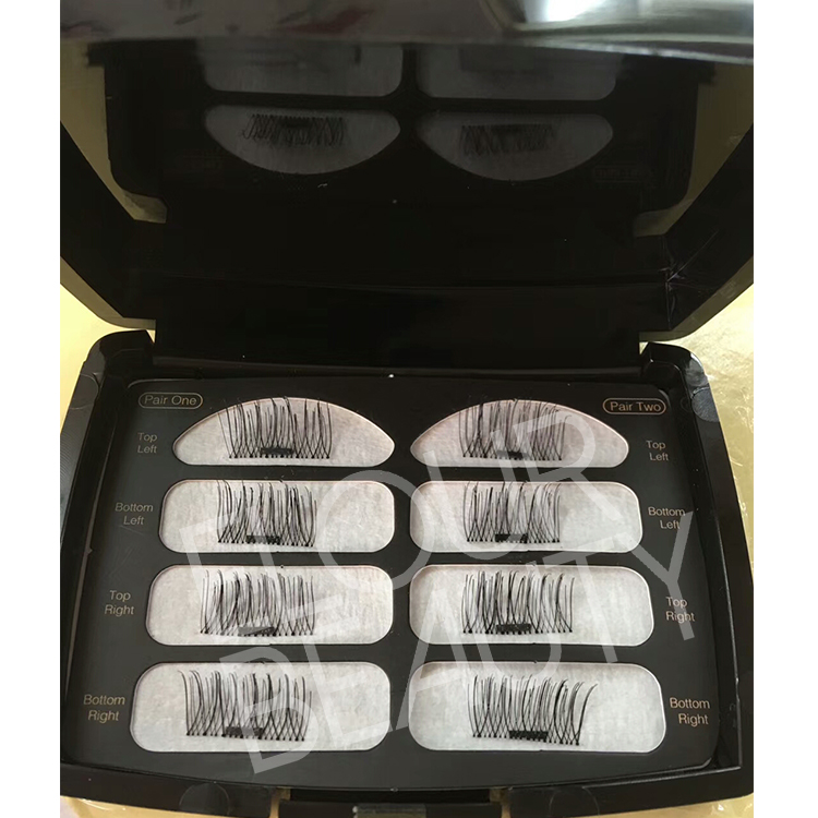 Luxy private label magnetic fake eyelashes manufacturer ED35