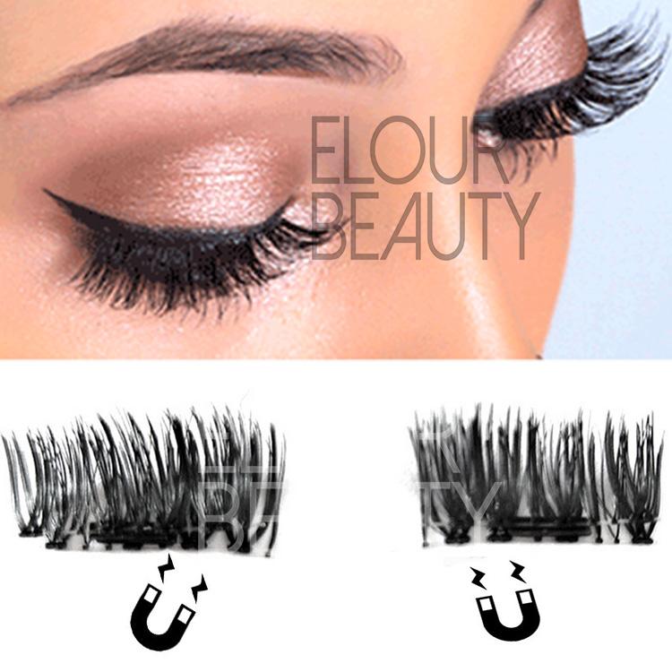 First Grade 3d Magnetic Reusable Fake Eyelashes Uk Ea57 Elour Lashes
