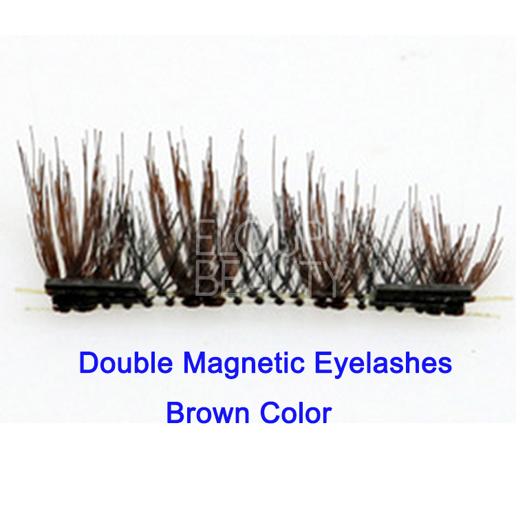 Glam magnetic eyelashes fake no glue Dubai EA77