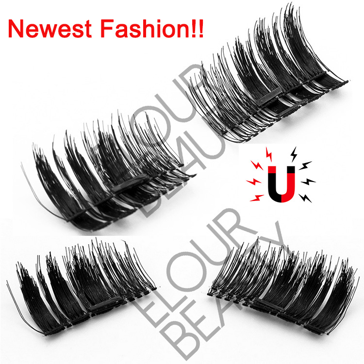 3D magnetic lashes wholesale beauty supply China factory