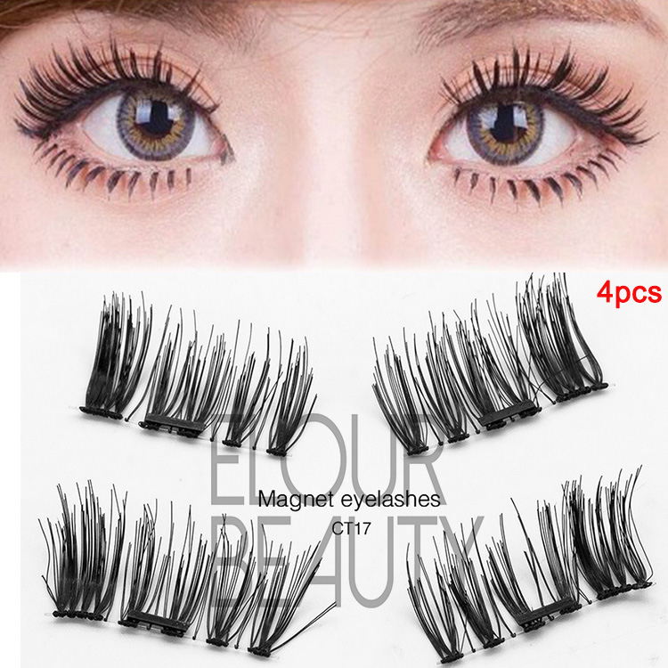 Reusable perfect 3d magnetic lashes China supplies EA09