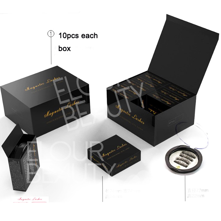 Fast delivery 3d magnetic lashes China manufacturer EA80