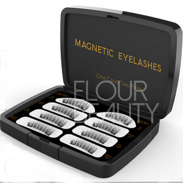 Private label magnetic false lashes one two one ED74