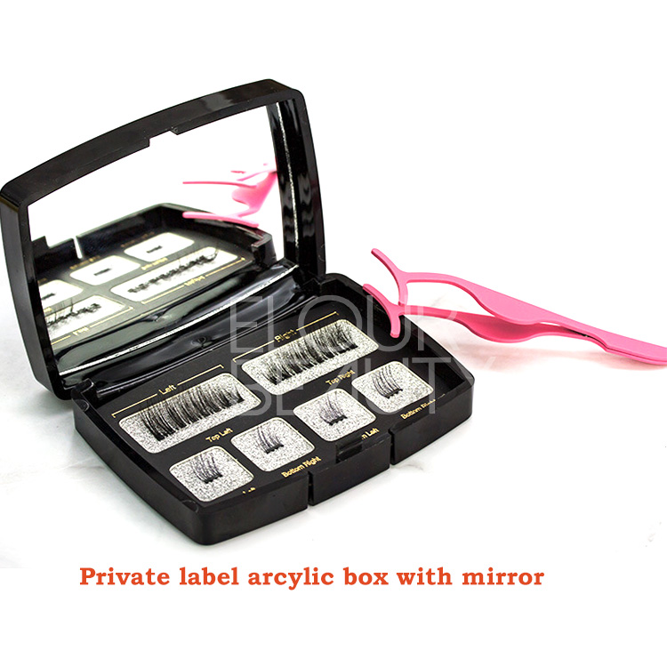 Private label magnetic false eyelashes manufacturers wholesale EL119