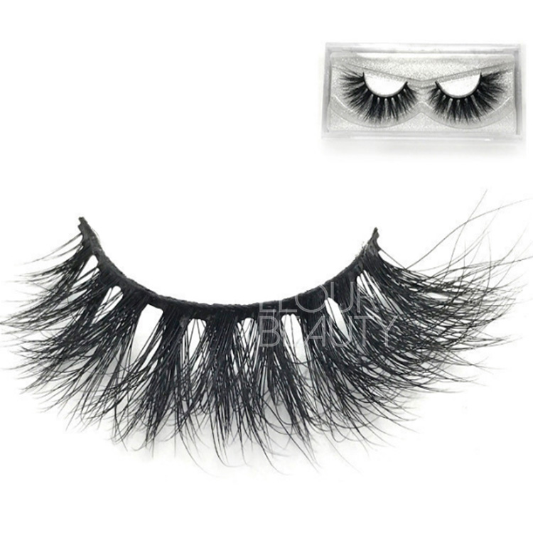 China factory supply volume mink 3d hair eyelashes wholesale EL49