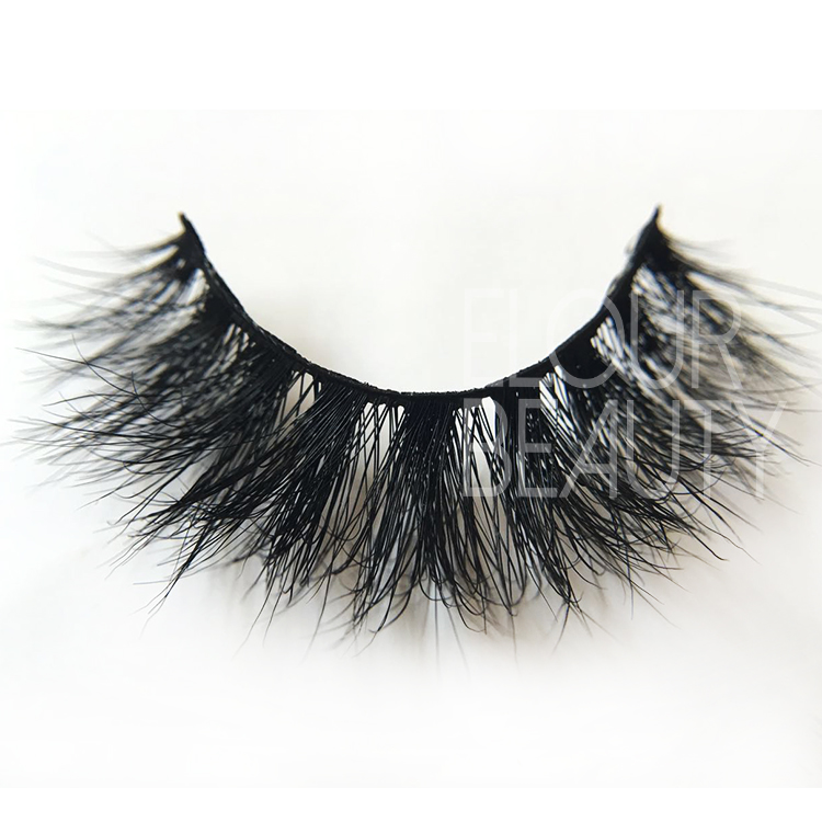 2018 newest 3D real mink eyelashes factory wholesale China ED50
