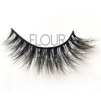 Durable long lasting real mink 3D lashes in wholesale EJ24