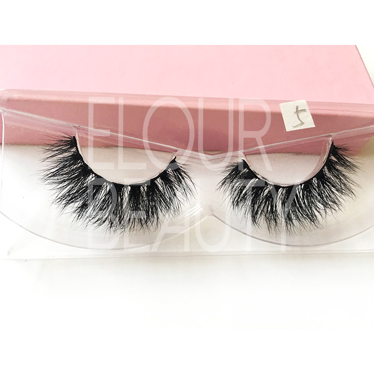 Best quality mink 3D false lash extensions nyc EJ40