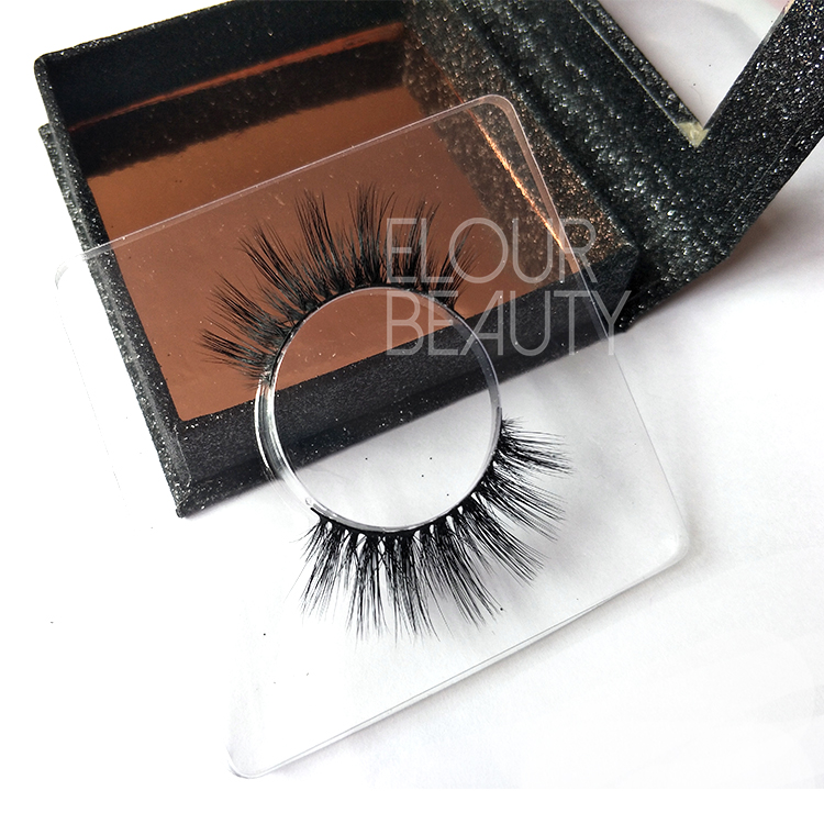 Private label volume mink younique 3d lash reviews China ED141