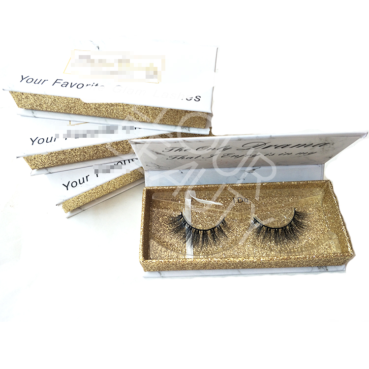 Wholesale 3D mink strip lashes private label lash suppliers EL84