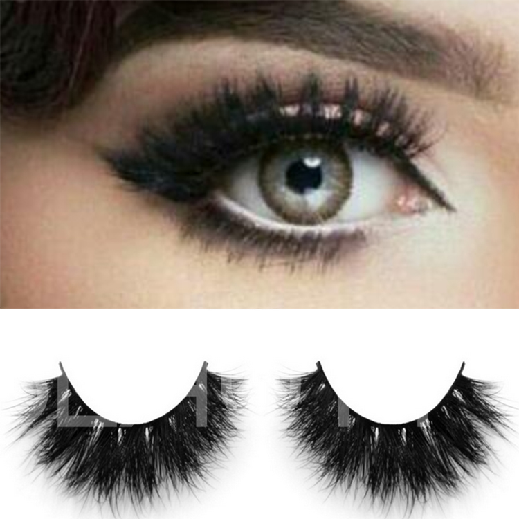 Premium quality luxurious big eyelashes made by mink hairs 3D  ES104