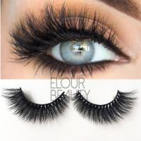 Wholesale beauty fake eyelashes in siberian 3d mink hairs ES107