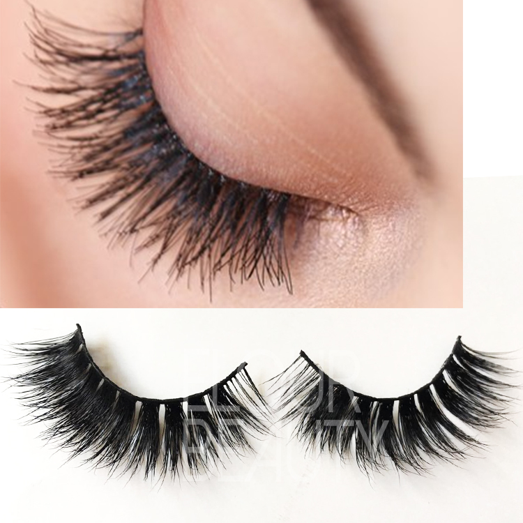 Natural velour mink lashes animal cruelty free in UK ES50