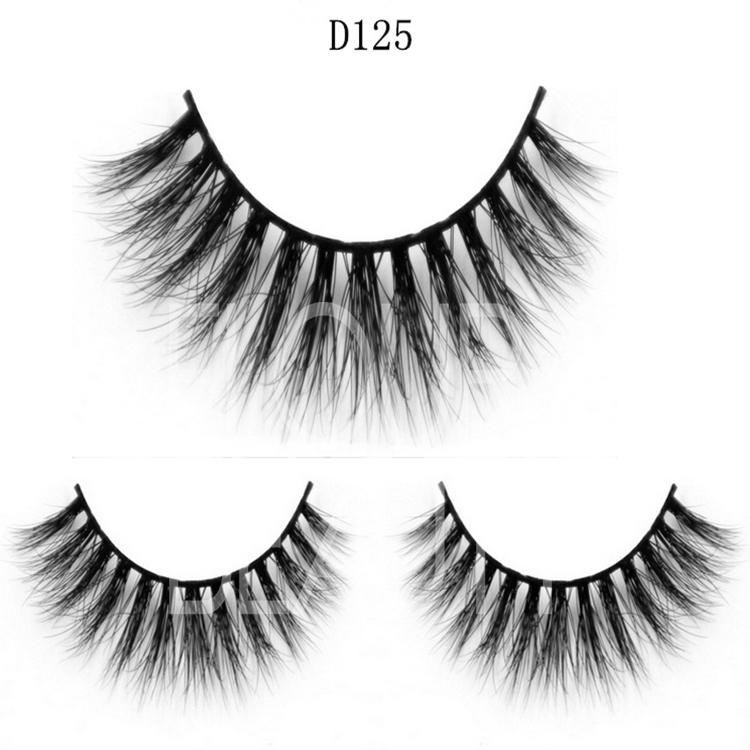 Different kinds 3d mink eyelashes with customers own design ES19