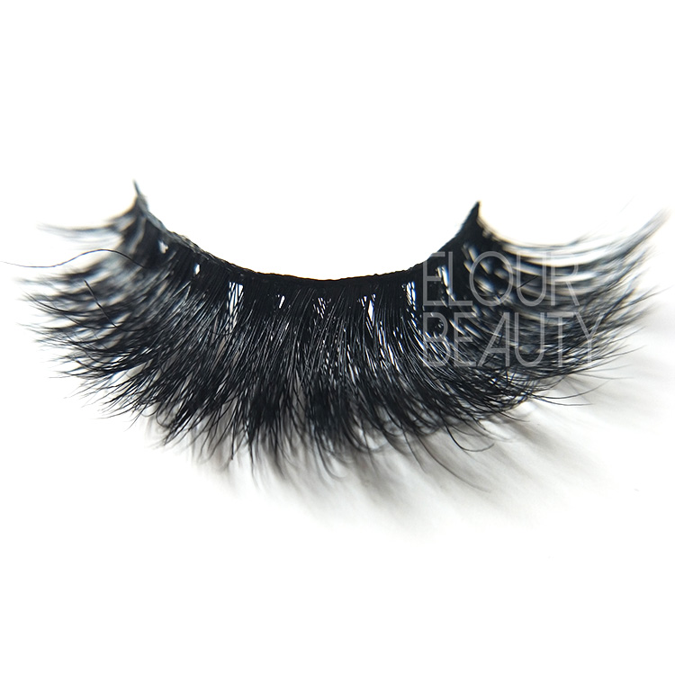 Wholesale  3D volume mink eyelashes the natural false eyelashes ED91