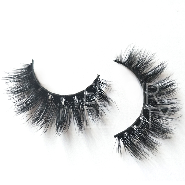 2018 new premium volume 3d mink lashes wholesale China ED95