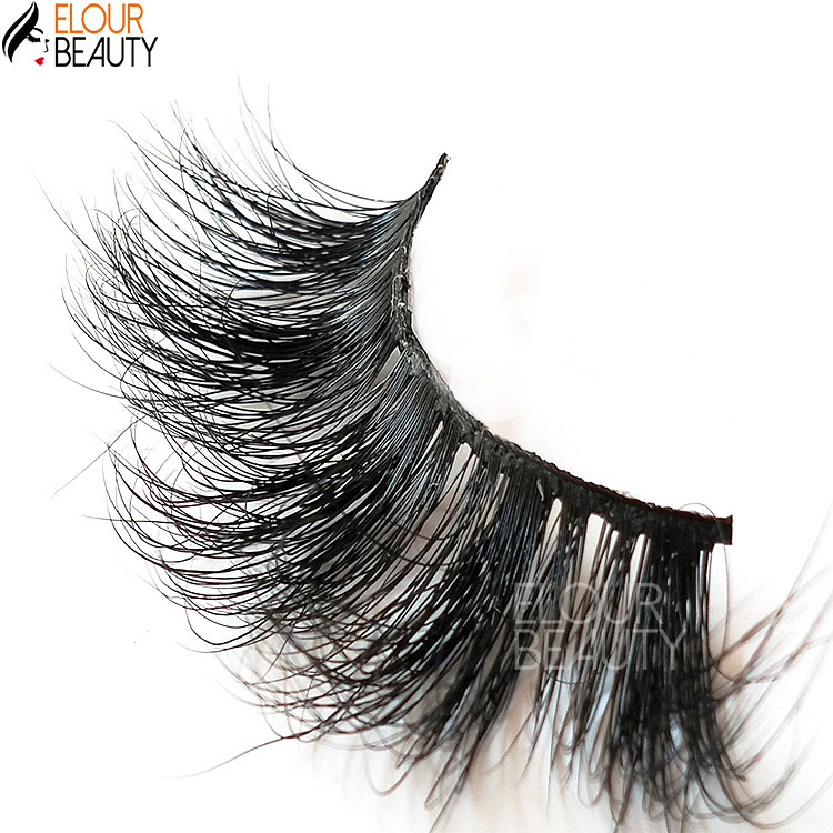 Customized lashes case of 25mm 5D mink eyelashes vendor  EY08