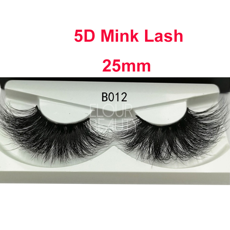 Private label 5D mink lash supplier wholesale EL138