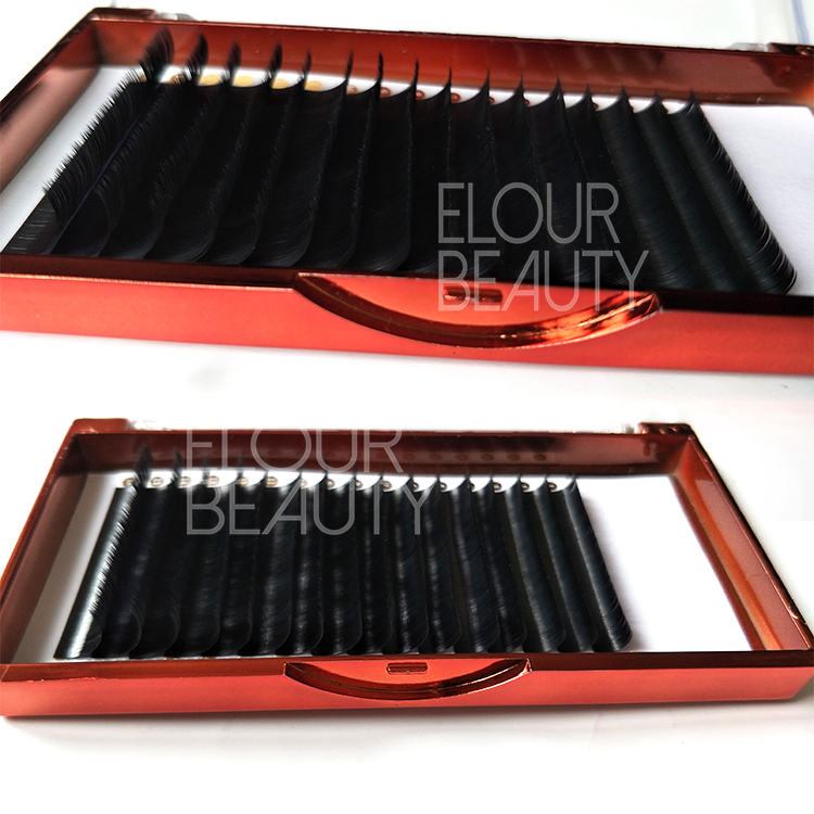 7270cc16cb6 Private lable matte ellipse flat eyelash extensions suppliers China ED83