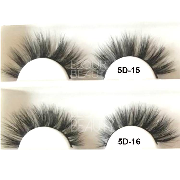 738c620e140 2018 the newest 5D mink fur eyelashes China factory wholesale EL62 ...