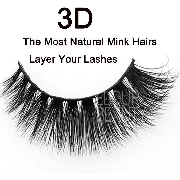 c4e66c3979e OEM 3D mink eyelashes top quality wholesale USA EA15 - Elour Lashes