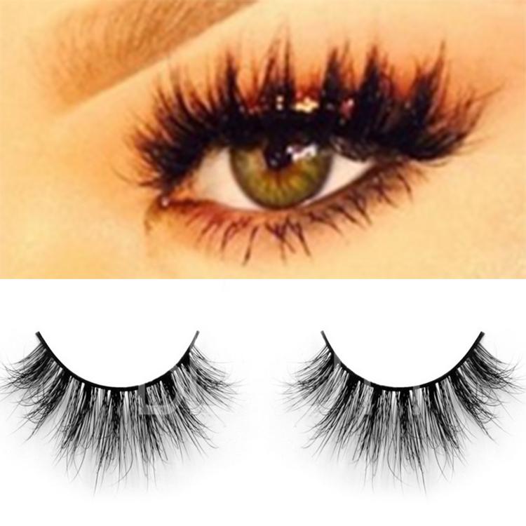 f5fecb9e2c3 Premium quality black 100% real mink eyelashes wholesale ES15 ...
